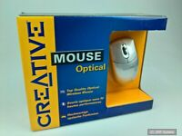 Creative Labs Optical Wireless Maus Mouse ideal für ältere PCs mit Vista, XP NEU