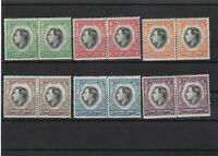 south west africa mounted mint  stamps  pairs  ref 10468