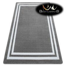 MODERN amazing stylish RUG 'HAMPTON' Frame grey Best-Carpets nice in touch