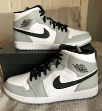 Nike Air Jordan 1 Mid Smoke Grey - UK 11, Deadstock/Brand New