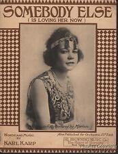 1919 Karl Karp Toledo OH Sheet Music (Somebody Else is Loving Her Now)