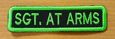 CUSTOM EMBROIDERY TITLE NAME TAG, MC CLUB PATCH, BICKER EMBROIDERED HIGH QUALITY