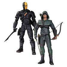 """""""DC Collectibles Arrow Oliver Queen and Deathstroke Action Figure, 2-Pack"""""""