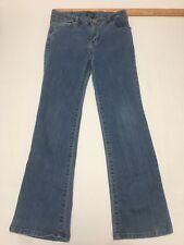 Faded Glory Size 10 Girls Jeans Blue Adjustable Waist