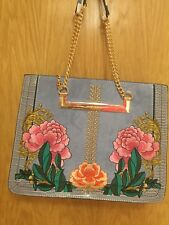 river island embroidered bag