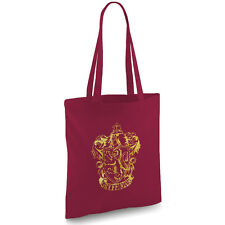 HARRY Potter ispirato GRIFONDORO Borgogna Tote Bag