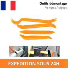 4X OUTILS PLASTIQUE DEMONTAGE VOITURE GARNITURE CLIP TABLEAU DE BORD PORTE - GM