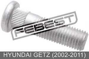 Wheel Stud For Hyundai Getz (2002-2011)