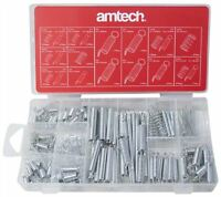 Am-Tech 150pc Spring Assortment - Popular Extended & Compressed Springs S6210