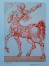 Salvador Dali' fotolitografia firmata (no guttuso, no Picasso )