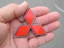 "MITSUBISHI RED DIAMOND 65mm BADGE 2.5"" Emblem *NEW* Express Van Rear"