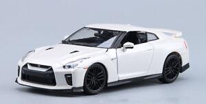 1:24 Scale Diecast  Alloy Sports Car Model Boys Toys For Bburago NISSAN GT-R