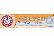 3x Arm & Hammer Advanced Extreme Whitening Toothpaste UP TO 3 SHADES Whiter 75ml