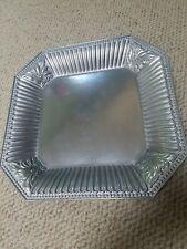 Lenox Butler's Pantry Metal Serveware Square Platter 14 1/2
