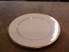"Noritake Bone China Troy Pattern 9726, 10 1/2""  DINNER PLATE, GOLD TRIM"