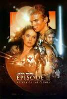 Star Wars Episode II - Angriff Of The Clones Original Filmposter
