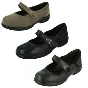 Ladies Easy B Leather / Suede Shoes : BUXTON (FACTORY 2nd's)