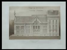BETHUNE, THEATRE MUNICIPAL - 1913 - 2 PLANCHES ARCHITECTURE - HENRI GUILLAUME