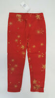 NWT Baby Gap Girls Size 12 18 24 Months 2t 3t 4t 5t Red Star Leggings Christmas