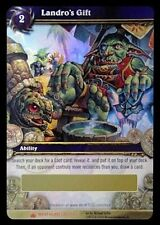 Unscratched Landro's Gift Loot Card World of Warcraft WoW TCG Box Wrathgate Rare