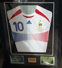 ★★Cadre maillot Zidane★★ finale coupe du monde 2006 france italie★★