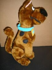 "NEW Play by Play Scooby Doo Plush 1997 Cartoon Network 10"" tall"