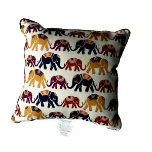 Elephant Motif Accent Pillow by Mainstays Approximately 17 x 17 x 6