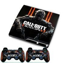 Call of duty Skin Sticker Cover Set for PS3 Playstation 3 Slim Console