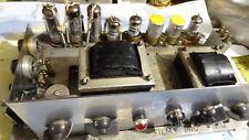 old valve  amplifier