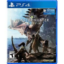 Monster Hunter World (PlayStation 4 ) PS4 Video Game New Sealed Free Ship