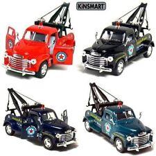 New Set of 4 Kinsmart 1953 Chevrolet 3100 Wrecker 1:38 diecast model tow chevy