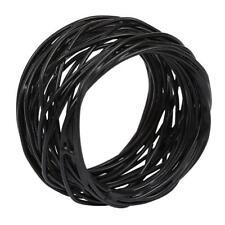 Design Imports Birdnest Black Napkin Ring (320405)