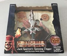 VINTAGE#Pirates of the Caribbean Jack Sparrow's Spinning Dagger ZIZZLE#NIB