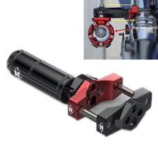 32mm Universal Motorrad Lenker Gabel Zusatzshalterung Alu für Scheinwerfer Handy