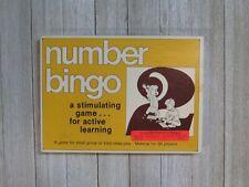 Number Bingo / Trend Enterprises Inc. / Educational Number Game / 36 Players