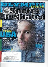 Bode Miller Olympic Preview Sports Illustrated Feb. 3, 2014