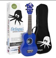 Octopus Soprano Dark Blue Ukulele (New Version)