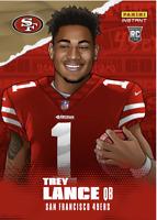 PRESALE 2021 PANINI Instant NFL Draft Night Trey Lance Rc Illustration Rookie