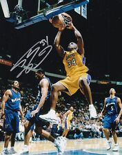 SHAQUILLE O'NEAL AUTOGRAPH SIGNED 8X10 PHOTO LOS ANGELES LAKERS