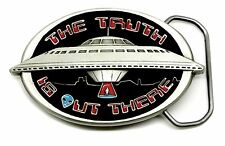 UFO Belt Buckle Alien Sci fi Themed Fantasy Authentic Great American Products