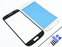 FRONTGLAS für SAMSUNG Galaxy S4 MINI SCHWARZ Glas Display Touchscreen NEU & OVP