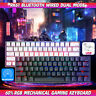 RK61 Bluetooth+USB Ergonomic RGB Backlight Mechanical Gaming PC Keyboard 6 STYLE
