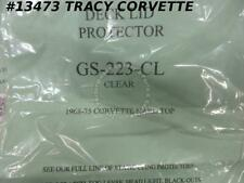 1968-1975 Corvette Deck Lid Protector - Hardtop Clear - 2 Pieces