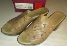 MUNRO AMERICAN Womens Wedge 7N Marisa Taupe Open Toe Sandals USA Made