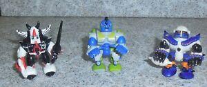 Zbots GALOOB Z-Bot 3 Figurine Lot Khann Pinner Zentor