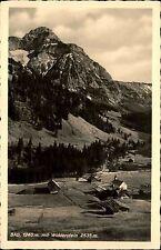 Bad Österreich Vorarlberg AK ~1940 Widderstein Berge Alpen Dorf Kapelle Kirche