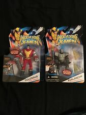 Marvels Wolverine And The X-men Avalanche & Colossus ActIon Figures New In Box