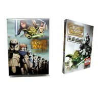 Star Wars The Clone Wars Season 1-6 Complete Series 1 2 3 4 5+6 DVD-collection