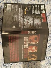 Amores Perros (Dvd, 2001) Mexico Region 4 Edition, Like New