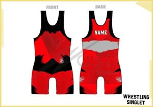 Customize Your Wrestling Singlet in Your Own Style